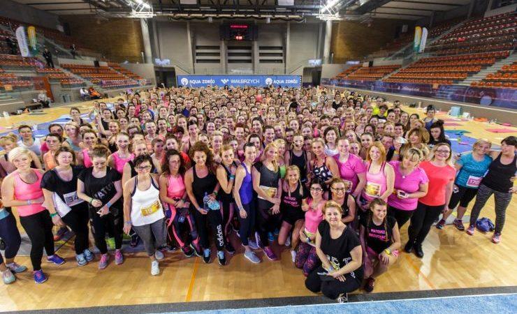 Aktywne walentynki w Wałbrzychu, czyli fitness z Ewą Chodakowską