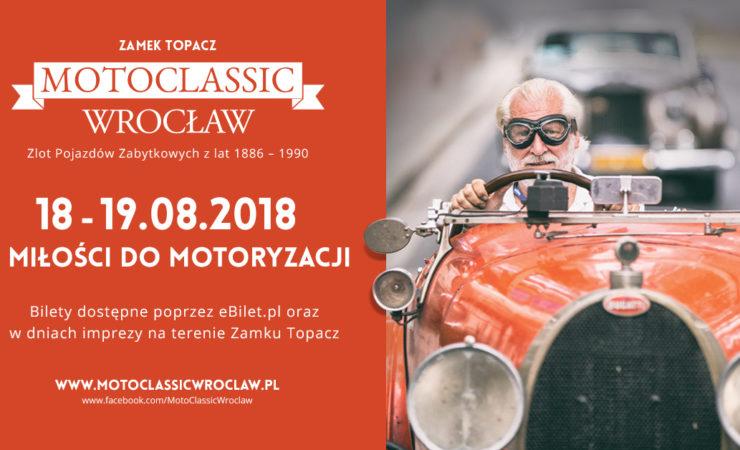 Motoclassic 2018 – wyjątkowa motoryzacyjna impreza w Zamku Topacz