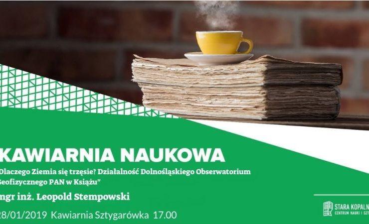 Kawiarnia Naukowa z LeopoldemStempowskim