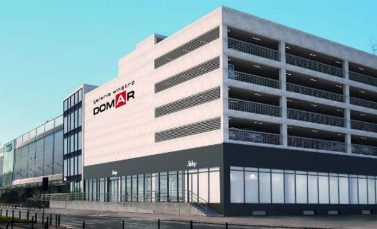 Cztery poziomy będzie miał parking przy Galerii Wnętrz Domar