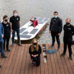 Wodowanie Solar Boat