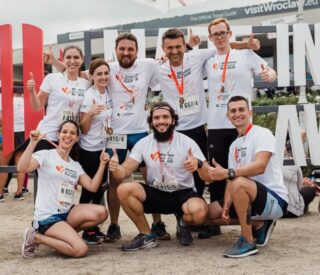 BusinessRunWroclaw drużyna zdj. z poprzednich lat