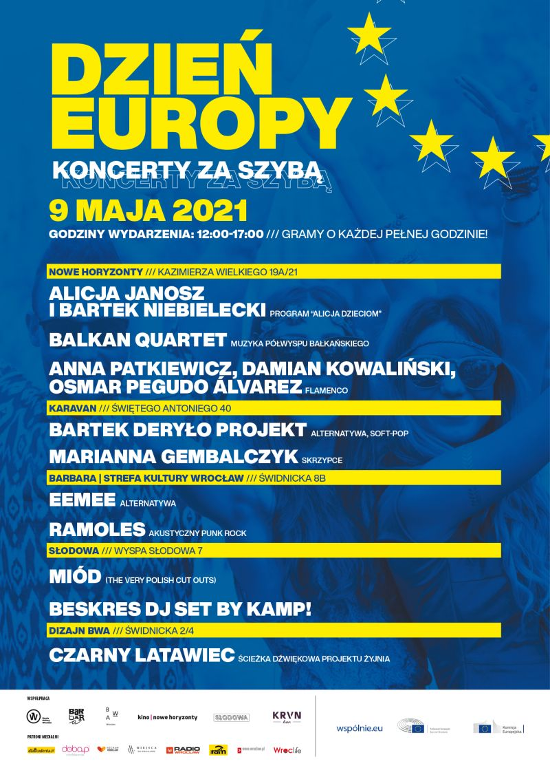 Dzień Europy 2021 plakat