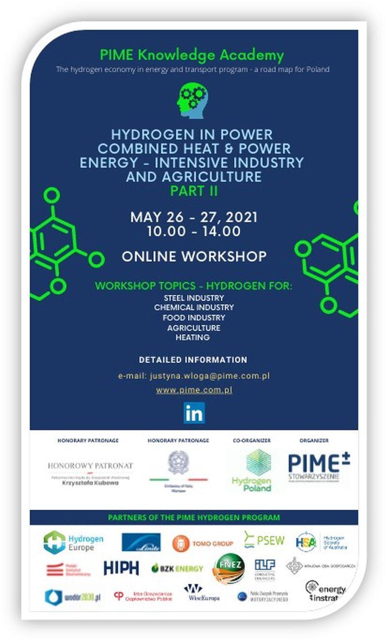 PIME workshop plakat