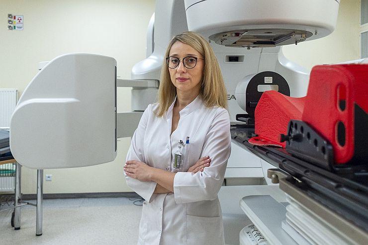 Aleksandra Sztuder, specjalista onkolog-radioterapeuta, koordynator DCO ds. certyfikacji iPAAC