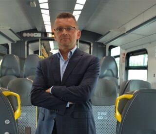 Damian Stawikowski, prezes Kolei Dolnośląskich