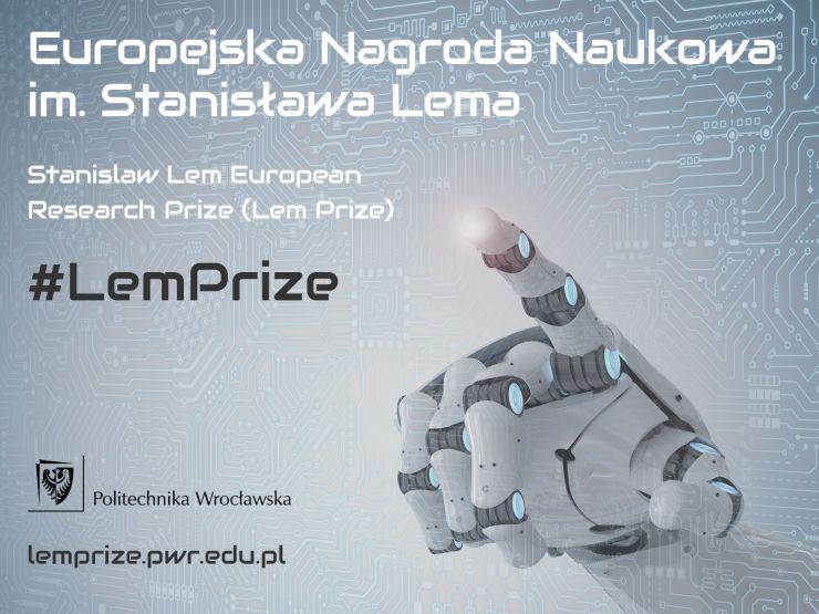 Europejska Nagroda Naukowa im. Stanisława Lema baner