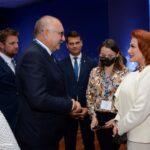 XXX, jubileuszowe Forum Ekonomiczne w Karpaczu na zdj. Cezary Przybylski, Marszałek Województw a Dolnośląskiego