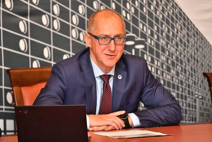 Prof. Arkadiusz Wójs, rektor PWr