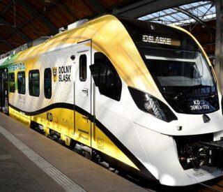 koleje dolnośląskie pociąg hybrydowy